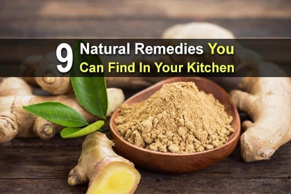 9 Natural Home Remedies You Can Find in Your Kitchen
