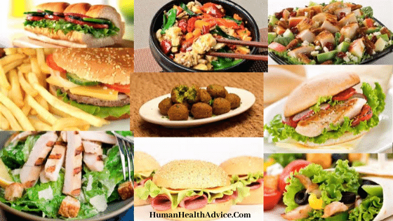 health fast food